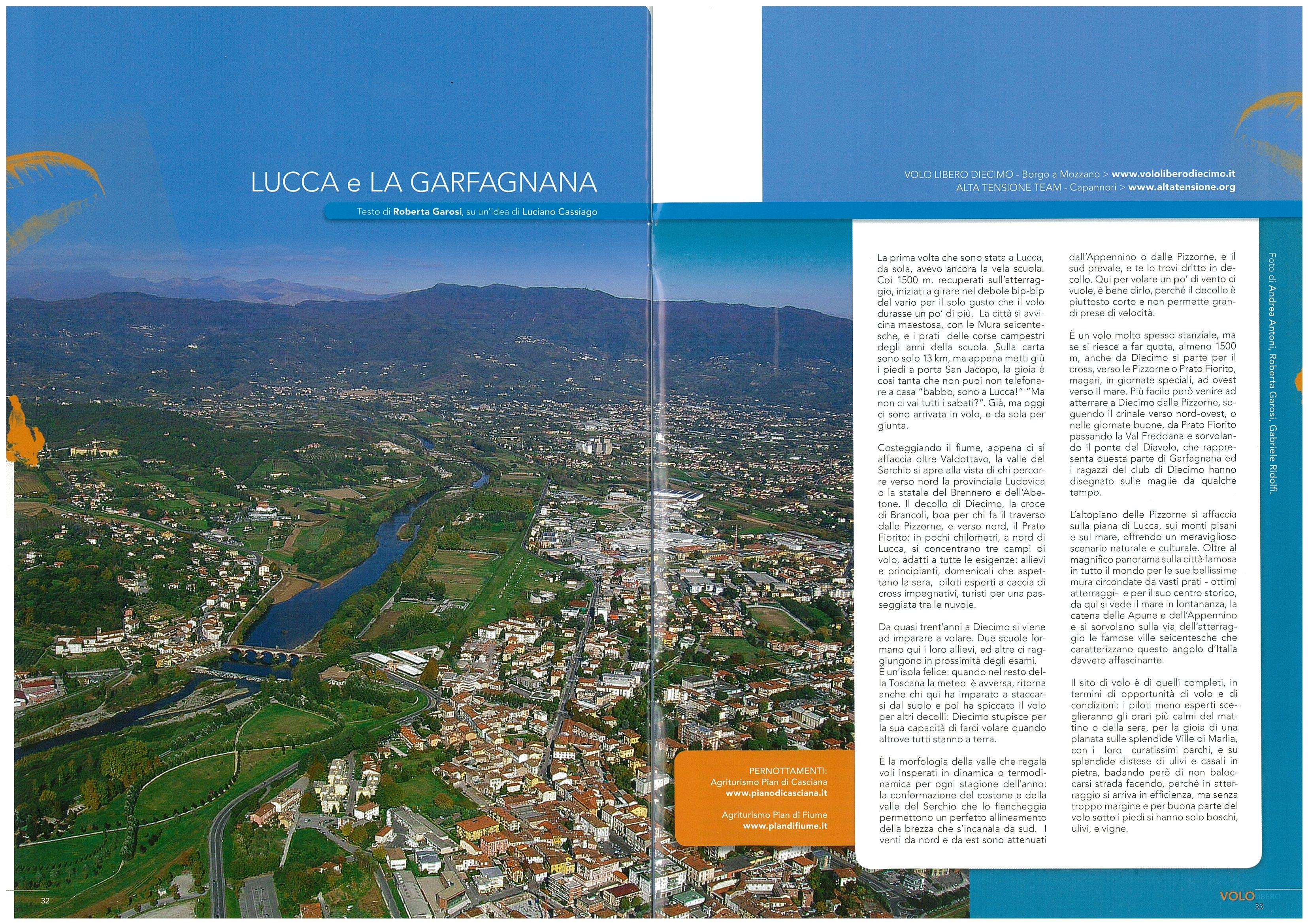 Lucca e la Grafagnana - Volo Libero n246